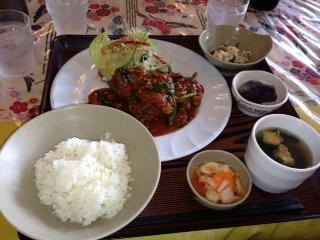 かなちゃんのお昼ご飯