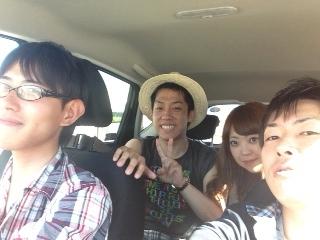車の中 沖縄