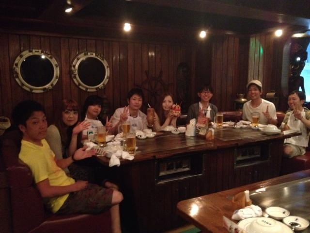 ステーキハウス集合写真  沖縄