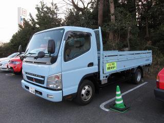 消防本部 資機材搬送車 三菱ふそう キャンター(PA-FE82DE)