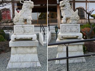 曹洞宗 明晶山 太平寺の狛犬