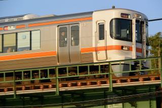 JR東海 313系 西尾橋りょう
