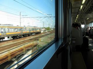 愛知環状鉄道 2000系 から JR東海 313系を見る