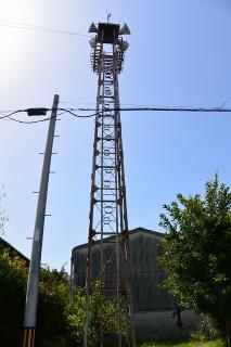 岡崎市下佐々木町屋敷57の火の見櫓