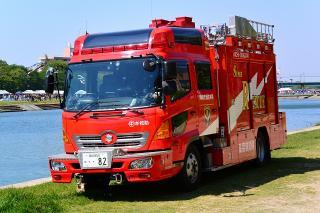 中消防署 本署 中救助工作車 救助工作車