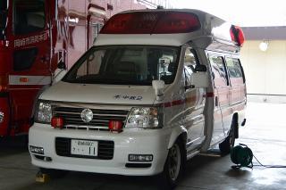 高規格救急自動車 中救急2号車 ニッサンTC-FPWGE50改