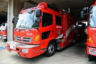 救助工作車 中救助工作車 日野BDG-GX7JGWA改 艤装:平和機械