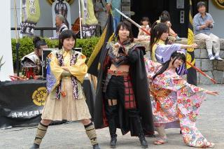 清須市公式 清洲城武将隊 桜華組