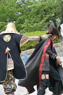 グレート家康公「葵」武将隊 & 清洲城武将隊 桜華組
