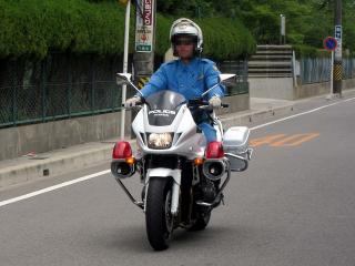 白バイ ホンダ CB1300P
