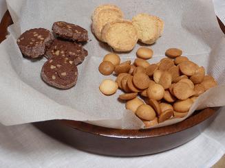 米粉クッキー三種