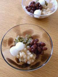 3色豆おやつ