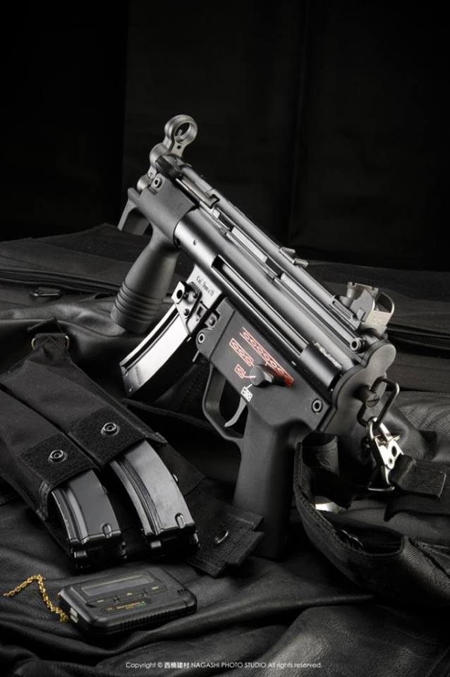 WE MP5k GBB