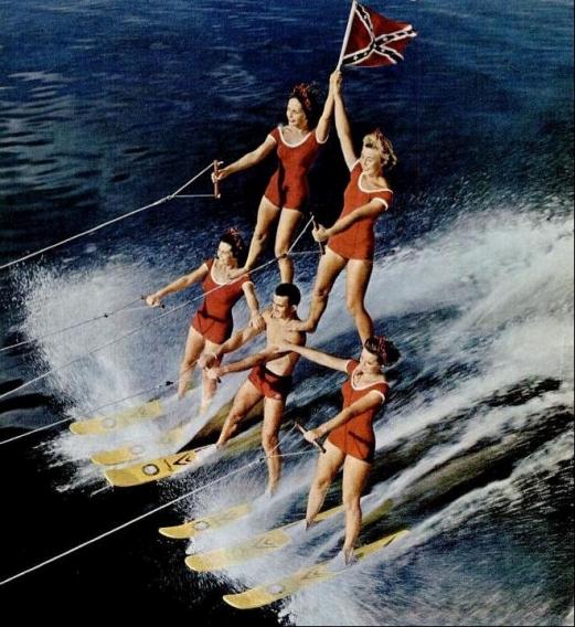 confederate skiiers