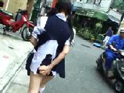 【切り裂き痴漢】超鬼畜!少女達の衣服を切り裂いて痴漢の上で強姦し、そのままバスから降ろす!
