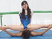 A●Bこ●はる激似娘が新体操でSEXレッスン.1