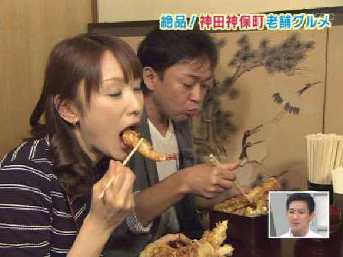 テレビ朝日女子アナ堂真理子のフェラ顔