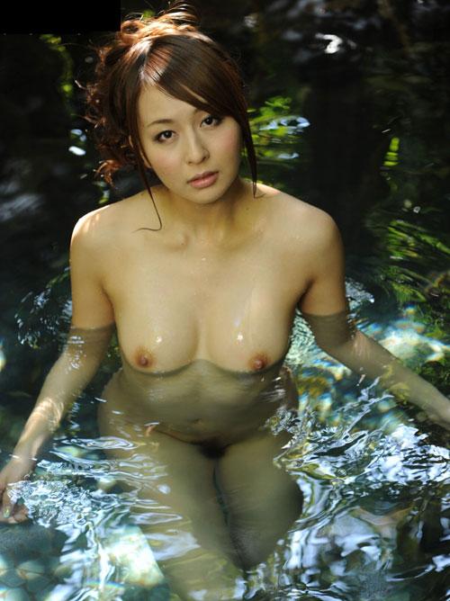 G連休は露天風呂でおっぱい三昧