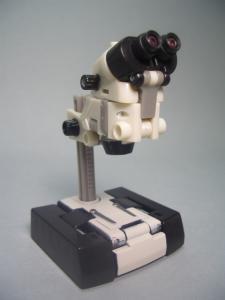 顕微鏡 前