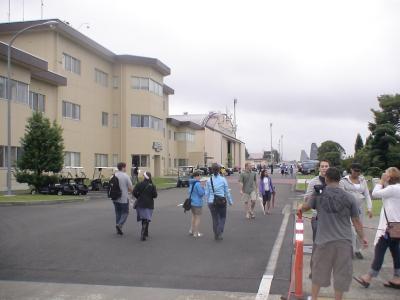 異国情緒漂う横田基地
