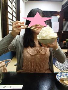 生姜焼き&ごはん (3)
