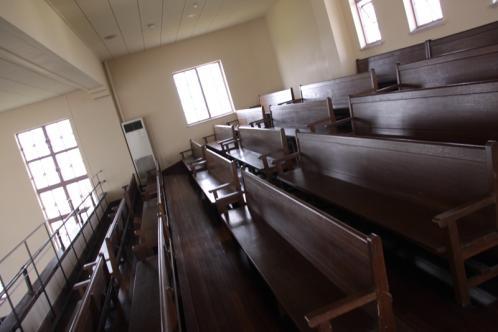 豊郷小学校講堂2階