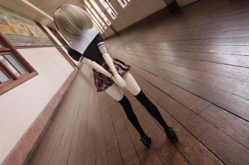 廊下にて6