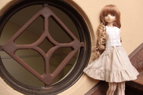 格子窓と8