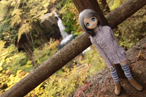 竜神滝にて2