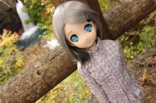 竜神滝にて3
