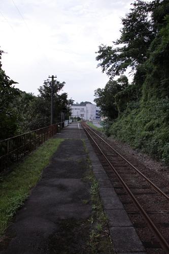 二俣本町駅ホーム掛川方面