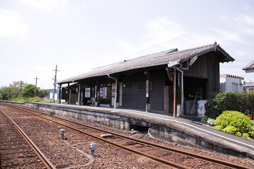 遠江一宮駅ホームその2