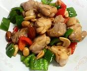 鶏肉とナッツの炒め(完)