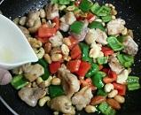 鶏肉とナッツの炒め8