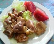 鶏肉の柚子コショウ焼き