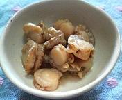 ベビーホタテの簡単煮