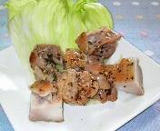 鶏肉バジルオリーブオイル焼き