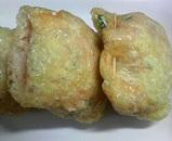 豆腐とミンチの巾着煮5
