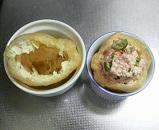 豆腐とミンチの巾着煮4
