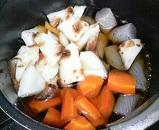 ニンジンの煮物4