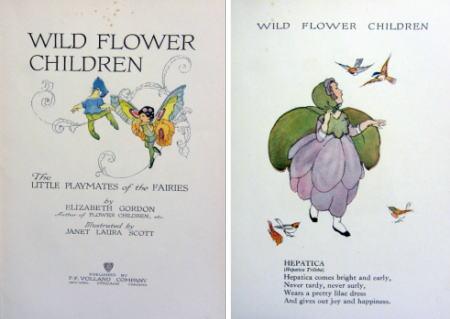 WILD FLOWER CHILDREN [扉&HEPATICA]