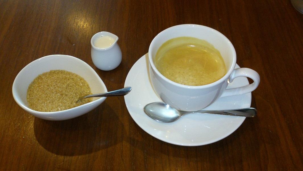 オステリア オギノ コーヒー