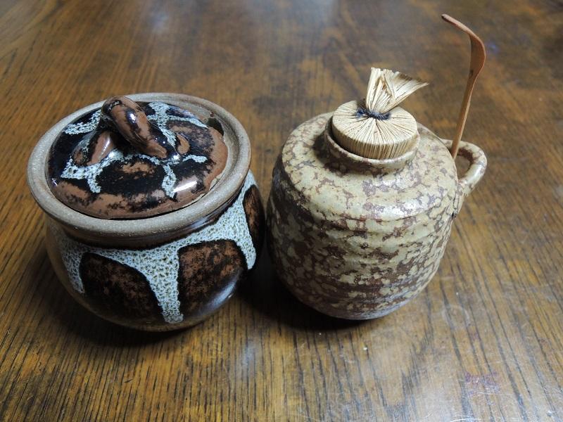 七味と山椒の器