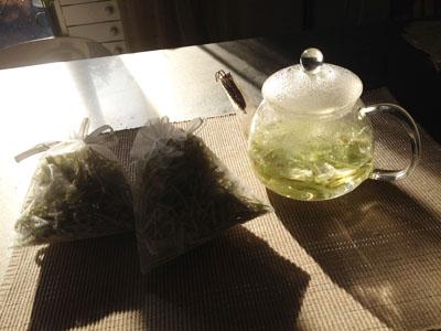 マコモだけお茶とお風呂と。。