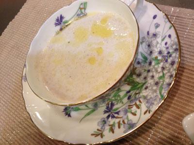 マッシュルームとエノキとゴボウのスープ。のえまま