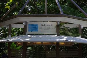 グリーン島サイン