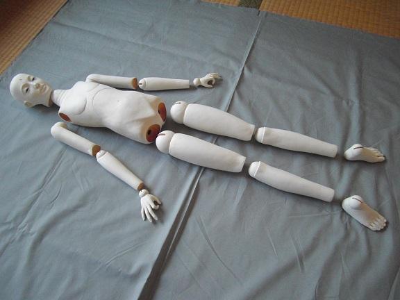 球体関節人形1-2