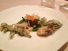 ホタテと野菜