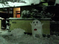 ふなっしー雪だるま