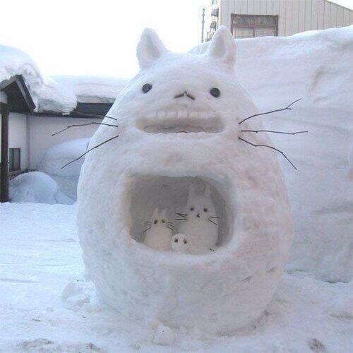 雪だるまトトロ